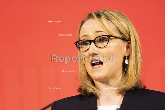 Rebecca Long Bailey speaking, Labour Leadership Hustings, hosted by Co-coperative Party, Business Design Centre, North London. - Jess Hurd - 2020-02-16