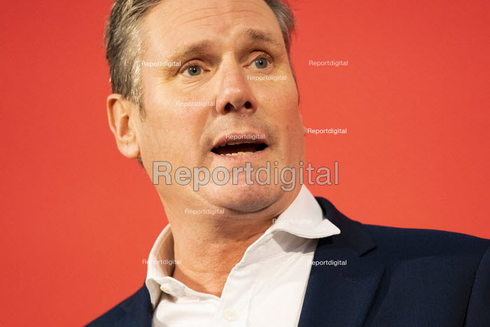 Keir Starmer, Labour Leadership Hustings, hosted by Co-coperative Party, Business Design Centre, North London. - Jess Hurd - 2020-02-16