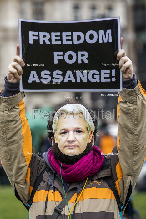 March for Julian Assange against his extradition to America, London - Jess Hurd - 2020-02-22