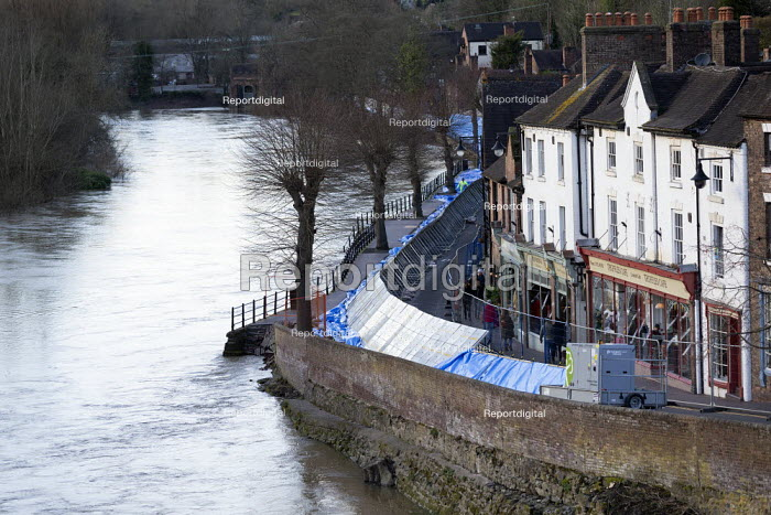 Flood defences, Ironbridge, Shropshire - John Harris - 2020-02-23