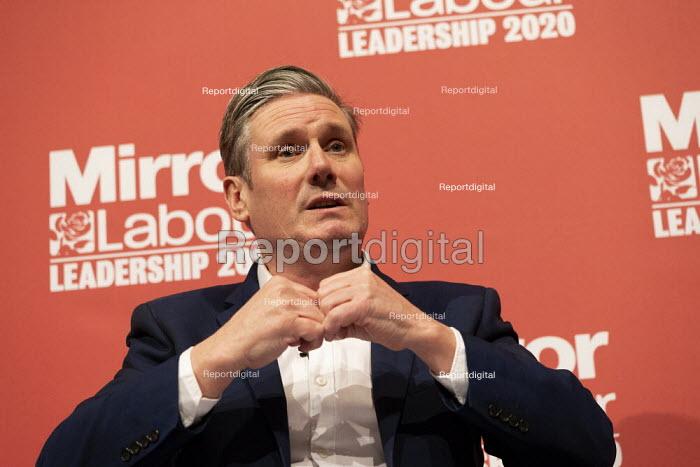 Keir Starmer speaking Labour Leader Hustings, Dudley - John Harris - 2020-03-08