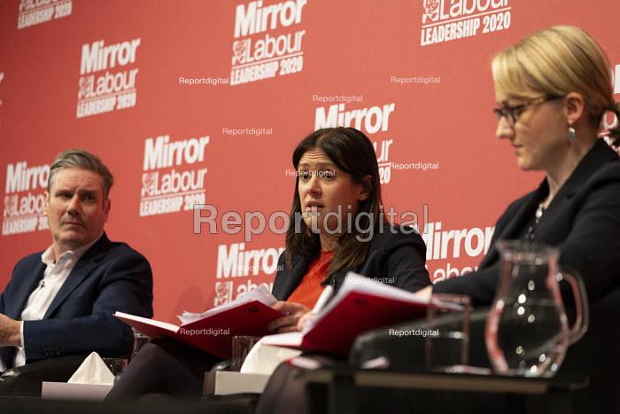 Lisa Nandy speaking Labour Leader Hustings, Dudley - John Harris - 2020-03-08