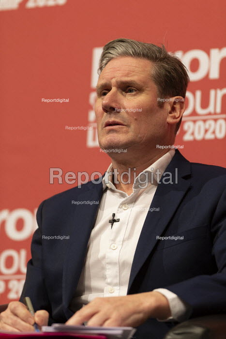 Keir Starmer speaking Labour Leader Hustings, Dudley - John Harris - 2020-03-08