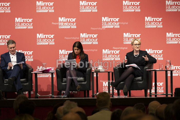 Rebecca Long-Bailey speaking Labour Leader Hustings, Dudley - John Harris - 2020-03-08