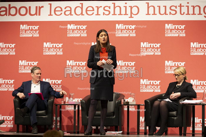 Lisa Nandy speaking Labour Leader Hustings, Dudley - John Harris - 2020-03-08