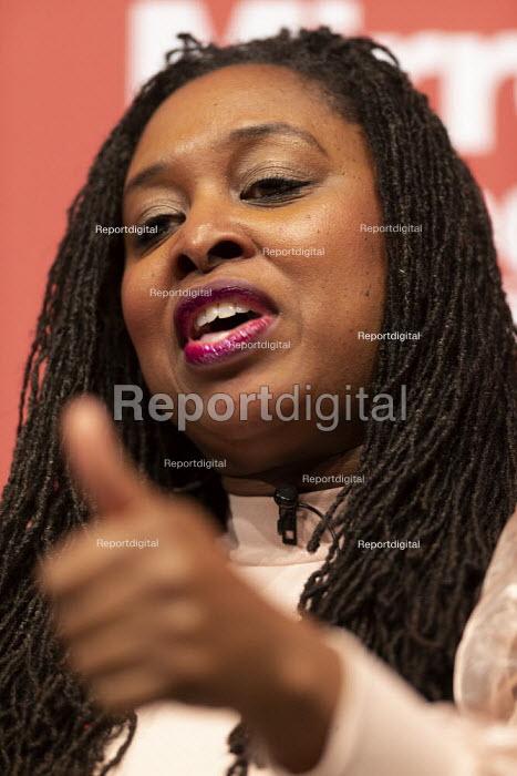 Dawn Butler speaking Labour Deputy Leader Hustings, Dudley - John Harris - 2020-03-08