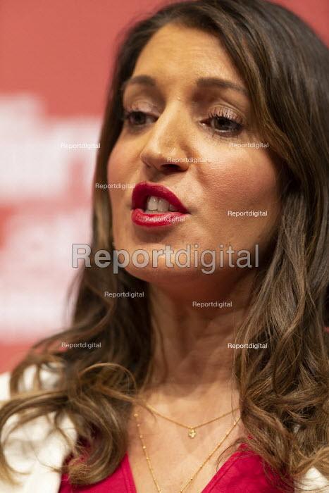 Dr Rosena Allin-Khan speaking Labour Deputy Leader Hustings, Dudley - John Harris - 2020-03-08
