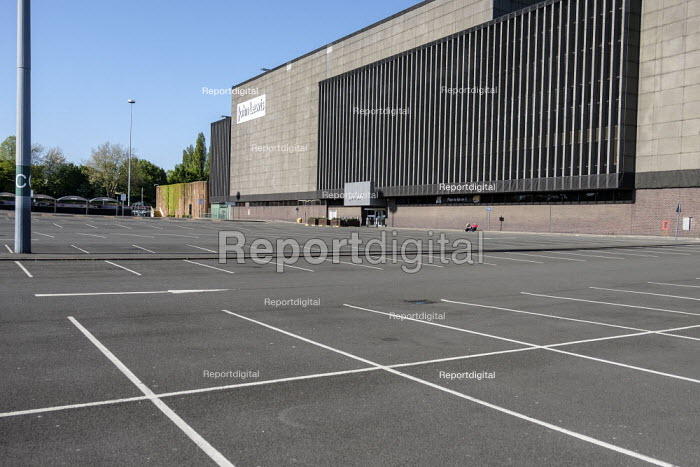 Coronavirus pandemic. Empty car park, Brent Cross Shopping Centre, London - Philip Wolmuth - 2020-04-19