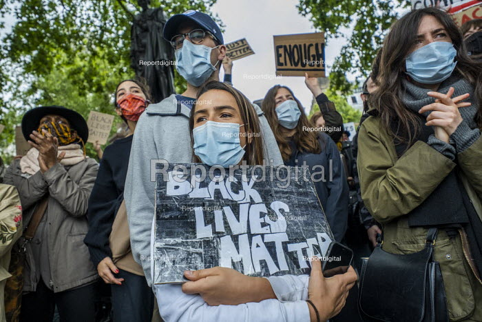 Black Lives Matter protest, Parliament Square, Westminster, London - Jess Hurd - 2020-06-06