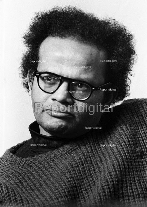 Barry Reckord 1972 Jamaican born author and playwright, writer of Skyness and Beautiful Caribbean - Chris Davies - 1972-02-26