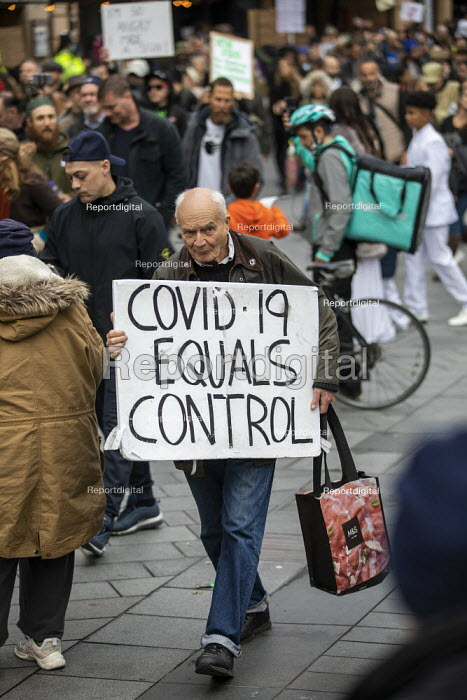 March For Freedom against Covid restrictions, London - Jess Hurd - 2020-10-18