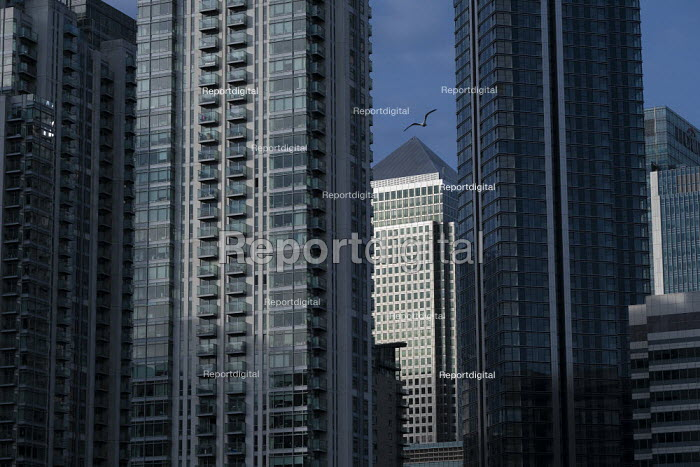 Canary Wharf, Docklands, Isle of Dogs, East London. One Canada Square - Jess Hurd - 2020-10-20