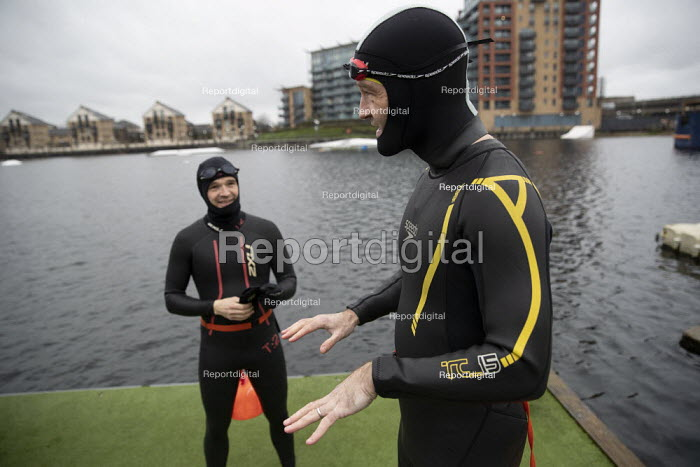 Open water swimming, Royal Docks, London. Swimming in the Do, Jess Hurd - jj201202.jpg