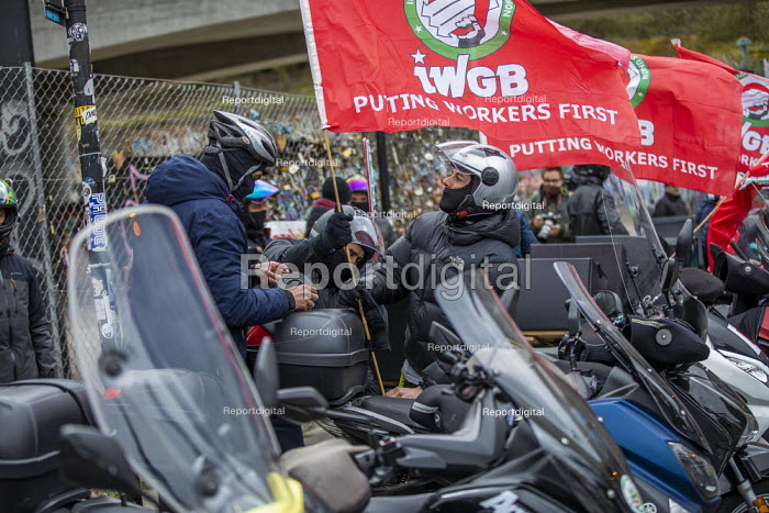Deliveroo workers striking over pay, terms, conditions and s, Jess Hurd - jj2104008.jpg