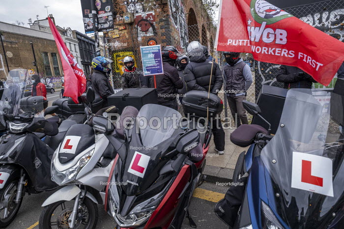 Deliveroo workers striking over pay, terms, conditions and s, Jess Hurd - jj2104033.jpg