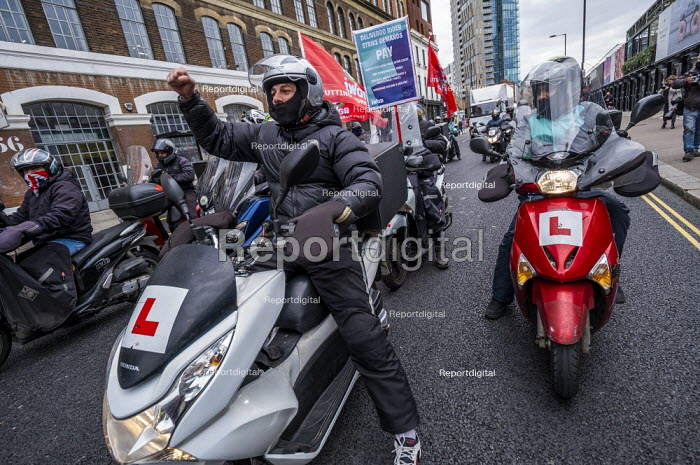 Deliveroo workers striking over pay, terms, conditions and s, Jess Hurd - jj2104048.jpg