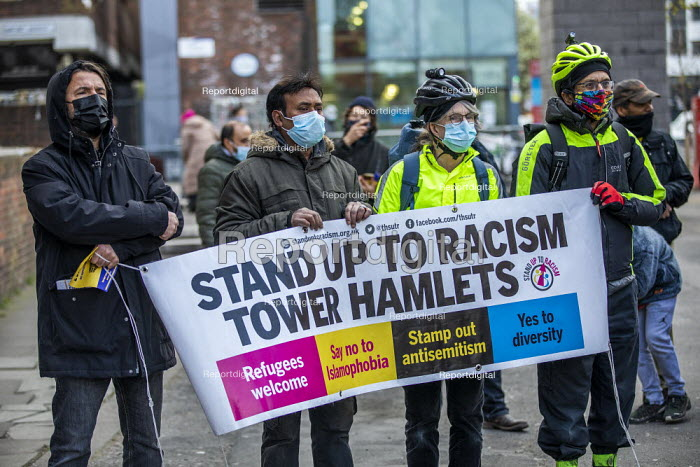 Tower Hamlets Community Housing residents protesting about m, Jess Hurd - jj2104069.jpg