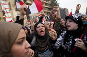 Cairo, Egypt. Women protest in large numbers after a series of sexual assaults on female journalists. Martyrs Day in Al-Tahrir (Liberation Square). Uprising against the military - Jess Hurd - 2010s,2011,activist,activists,africa,african,africans,against,anger,angry,anti-government protest,arab,arabic,arabs,armed forces,assault,assaults,bigotry,CAMPAIGN,campaigner,campaigners,CAMPAIGNING,CA