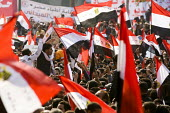 Martyrs Day in Al-Tahrir (Liberation Square). Uprising against the military. Cairo, Egypt - Jess Hurd - 25-11-2011