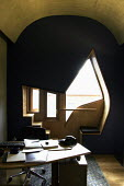 The interior of one of the MSP offices with seating pod at the window. - Alan Wylie - 17-09-2004