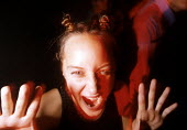 "Dancing at nightclub in Bath."" Karanga"" - Paul Box - 1990s,1998,ACE entertainment,club,clubber,clubbing,clubs,dance,dancer,DANCERS,Dancing,disco,female,LFL lifestyle & leisure,life,melody,music,MUSICAL,night,NIGHT CLUB,nightclub,NIGHTCLUBS,NOISE,NOISY,p"
