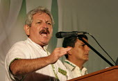 Ruben Costas, one of the main figures of the autonomist movement and governor of the province, makes a speech during the Campaign for the autonomy of the province of Santa Cruz. - Boris Heger - 2000s,2008,americas,autonomist,autonomists,autonomy,Bolivia,Bolivian,Bolivians,Costas,Cruz,division,FLAG,flags,Latin America,pol politics,referendum,region,regional,Ruben,Santa,Secession,separatism,So
