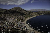 The city of Copacabana on the shore of Lake Titicaca, Bolivia. - Boris Heger - 24-05-2009