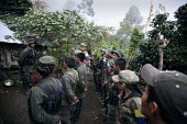Members of the FARC guerilla receiving orders - Boris Heger - 25-06-2010