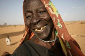 Woman displaced by the violence, IDP camp of Gereida, Darfur region, Sudan, May 2006. - Boris Heger - 05-05-2006