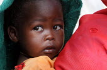 Child displaced by the violence, IDP camp of Gereida, Darfur region, Sudan, May 2006. - Boris Heger - 06-05-2006