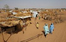 General view, IDP camp of Gereida, Darfur region, Sudan, May 2006. - Boris Heger - 06-05-2006