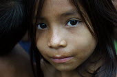 Internally displaced indigenous children who used to live very close to the border, Yape, Darien region, Panama, August 2004. This region is very remote. - Boris Heger - 2000s,2006,americas,Amerindian,Amerindians,armed,Boca de cupe,border,Cana,child,CHILDHOOD,children,communities,community,country,countryside,Darién,Darien Gap,displaced,displacement,EQUALITY,excluded