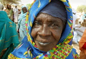 An elderly woman in the arab village of Malam, Darfur region, Sudan, May 2006. - Boris Heger - 31-05-2006