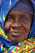 Portrait of an elderly woman in the arab village of Malam, Darfur region, Sudan, May 2006. - Boris Heger - 30-05-2006