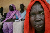 Patients wait for their turn at the laboratory, Juba Teaching Hospital, South Sudan, May 2006. - Boris Heger - 24-05-2006