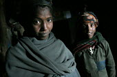 Villagers in their hut, South Wollo region, Ethiopia, August 2005. The region is very poor and remote - Boris Heger - 08-09-2006