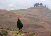 Farmer, South Wollo region, Ethiopia, August 2005. The region is very poor and remote - Boris Heger - 08-09-2006