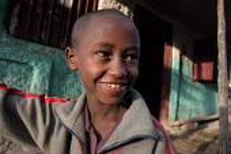 Boy, Dessie, South Wollo region, Ethiopia, August 2005. - Boris Heger - 08-09-2006