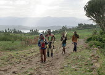 General view near Dessie, South Wollo region, Ethiopia, August 2005. - Boris Heger - 08-09-2006