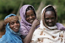 Old ladies smiling to the camera, near Dire Dawa, Ethiopia, October 2005. - Boris Heger - 27-10-2005