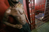 A detainee at the central prison of Monrovia, Liberia, February 2006. - Boris Heger - 02-03-2006