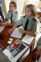 Policewomen attend an International Red Cross seminar on International Humanitarian Laws Santa Cruz, Bolivia, August 2004 - Boris Heger - 29-08-2006