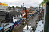 View of the center of the Chocos region capital, Quibdo, Colombia, August 2004. - Boris Heger - 30-08-2006