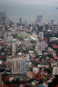 Aerial view of Panama city, Panama - Boris Heger - 2000s,2006,Aerial,americas,cities,city,cityscape,cityscapes,EBF,Economic,Economy,Latin America,outdoors,outside,Panama,Panamanian,Panamanians,skyline,skylines,urban