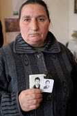 Relatives of soldiers and civilans who disappeared during the conflict between Armenia and Azerbaijan over the Nagorno Karabakh region gather together during a meeting in Yerevan, Armenia, February 20... - Boris Heger - 01-03-2005