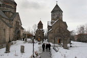 A typical orthodox church in Tsaghkadzor, Armenia, February 2005. - Boris Heger - 01-03-2005