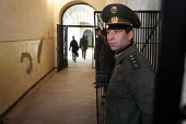A guard stands by in the central prison of Goris, Armenia, February 2005. - Boris Heger - 02-03-2005