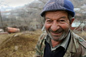 Old man, Azokh, Nagorno Karabakh, Azerbaidjan, March 2005. The region, although officially located within Azerbaidjan, is being occupied by Armenia and has became a de facto Republic strongly linked w... - Boris Heger - 04-03-2005