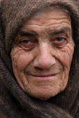 Old lady, Azokh, Nagorno Karabakh, Azerbaidjan, March 2005. The region, although officially located within Azerbaidjan, is being occupied by Armenia since a deadly war got in stand by in 1994 and beca... - Boris Heger - 04-03-2005