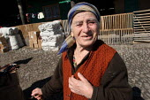 Chechen woman in a refugee center, Sleptovsk, Ingushetia, March 2005. - Boris Heger - 18-03-2005